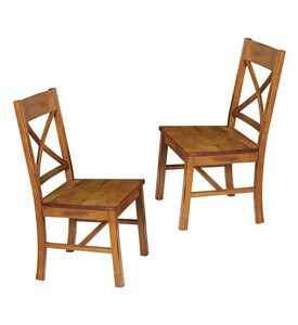 Millwright Wood Dining Chair - Set of 2 by Walker Edison Image