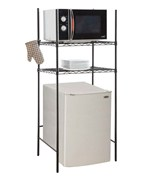 Mini Fridge and Microwave Rack