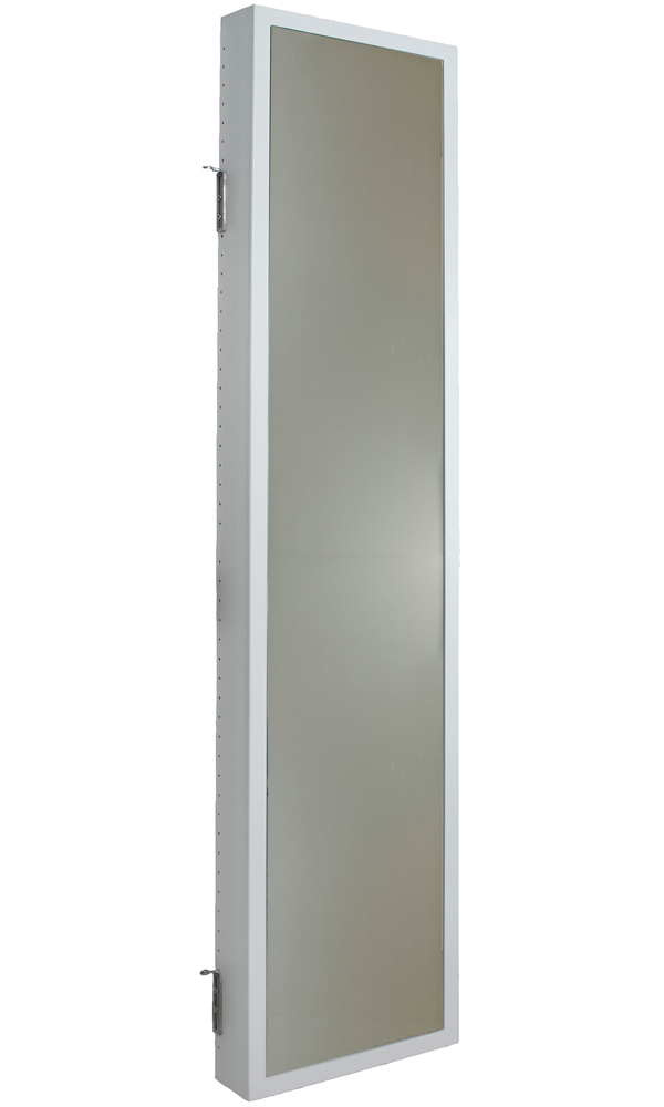 Bathroom Vanity Hinges mirrored cabinet - hinge mounted in behind the door storage