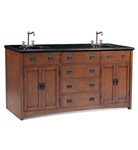 Mission Double Sink Vanity Image