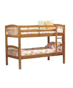 Mission Style Bunk Bed by Linon Home Decor