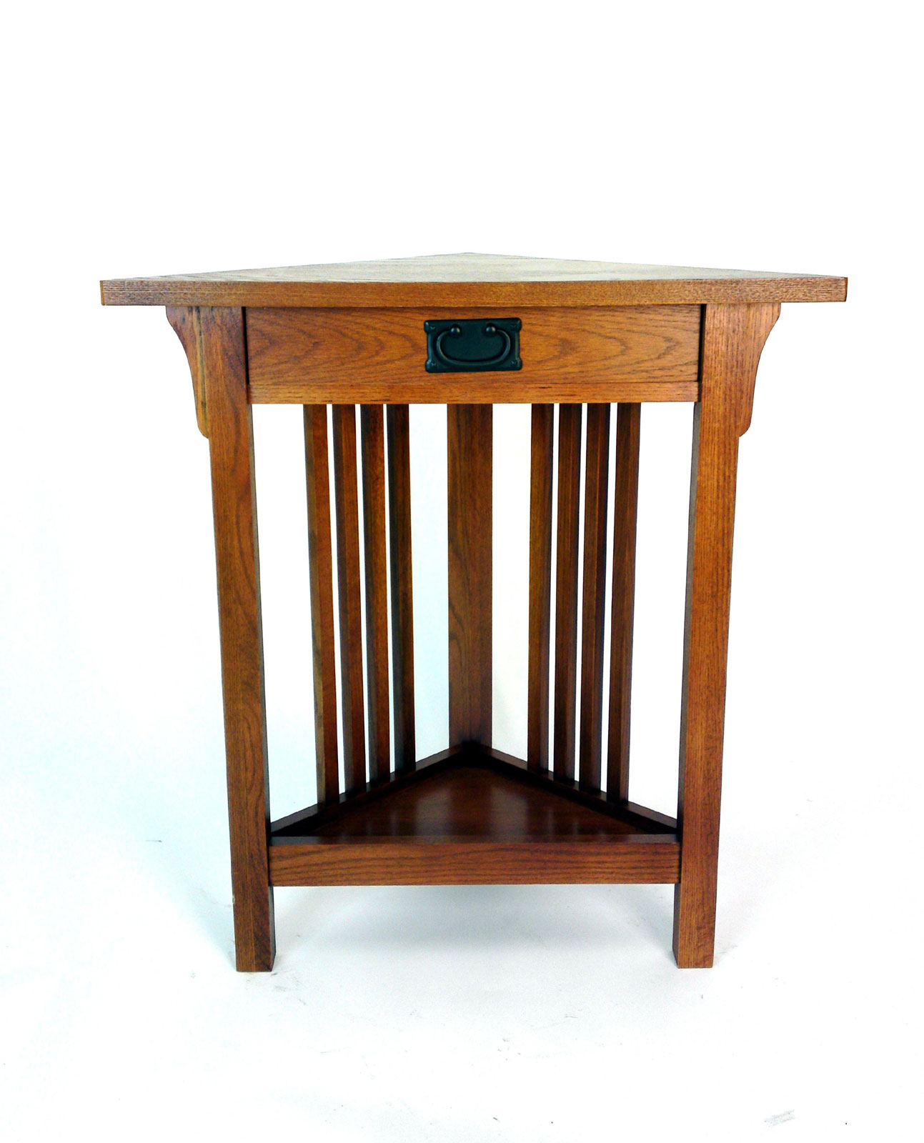 Mission Style Corner Table By Wayborn Price: $202.99