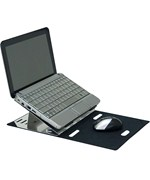 Mobile Laptop Stand - Aluminum
