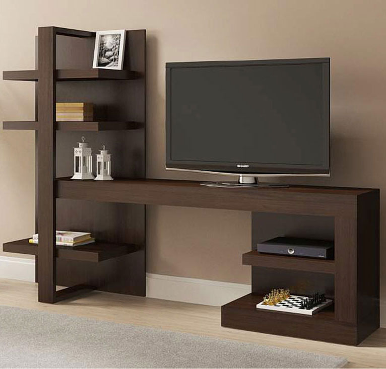 Modern media console in tv stands Modern media console