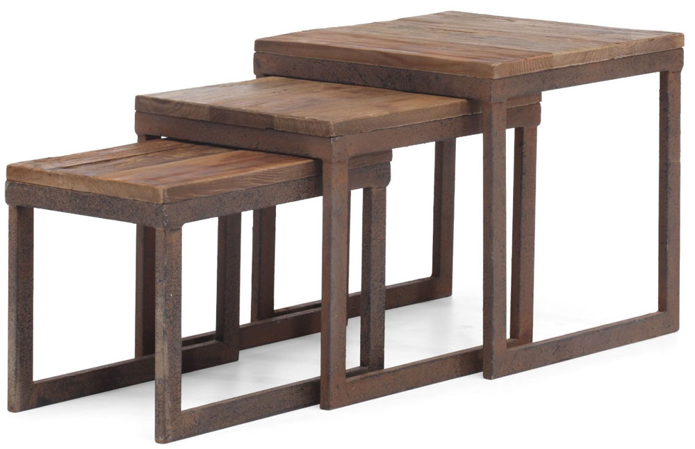Contemporary Nesting Tables ~ Modern nesting tables in table sets