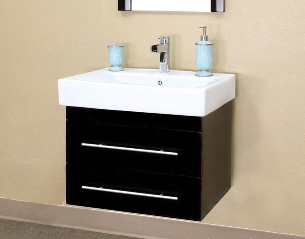 modern single wall mount style sink vanity by bellaterra home price