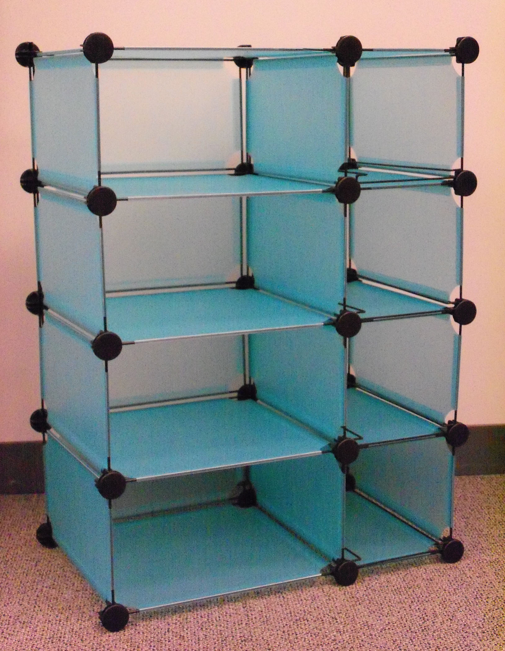 Shelf With Door · Modular Cube Storage By Edsal Manufacturing ...