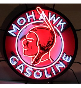 Mohawk Gasoline Neon Sign by Neonetics Image