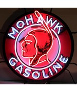 Mohawk Gasoline Neon Sign by Neonetics