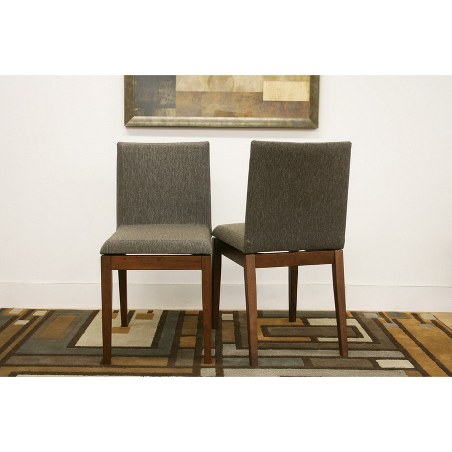 Modern Dining Chairs Brown Set of 2 in Dining Chairs : moira brown modern dining chair set of 2 by wholesale interiors from www.organizeit.com size 900 x 900 jpeg 342kB