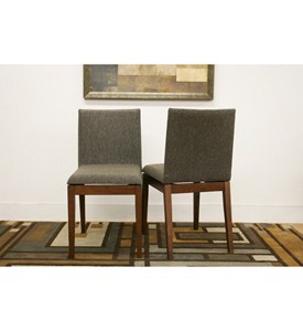 Modern Dining Chairs - Brown (Set of 2) Image