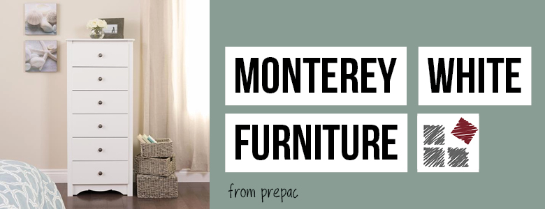 Monterey White Furniture Collection