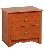 Monterey Two-Drawer Night Stand - Cherry