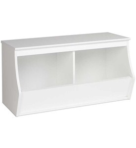 Stackable Storage Cubby - Two Bin - Monterey Image
