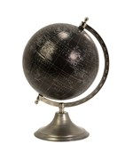 Moonlight Globe With Nickel Finish Stand by Imax