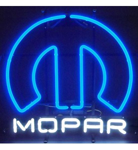 Mopar Omega Neon Sign by Neonetics Image