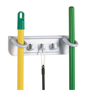 Mop and Broom Organizer Image
