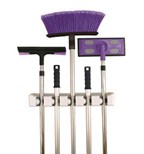 broom and mop holders