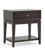 Morgan Brown Modern Accent Table and Nightstand by Wholesale Interiors