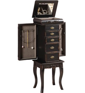 Standing Jewelry Armoire - Morris Image