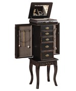 Standing Jewelry Armoire - Morris