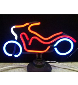 Motorcycle Neon Sculpture - by Neonetics Image