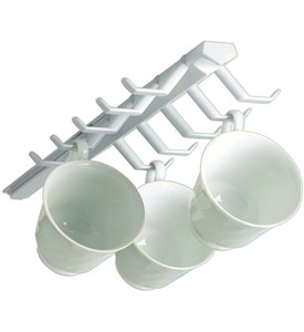 Mounted Sliding Cup Storage Rack Image