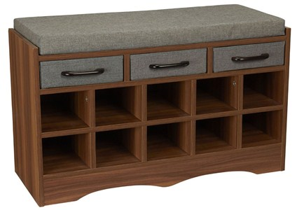 Mudroom Storage Bench Image