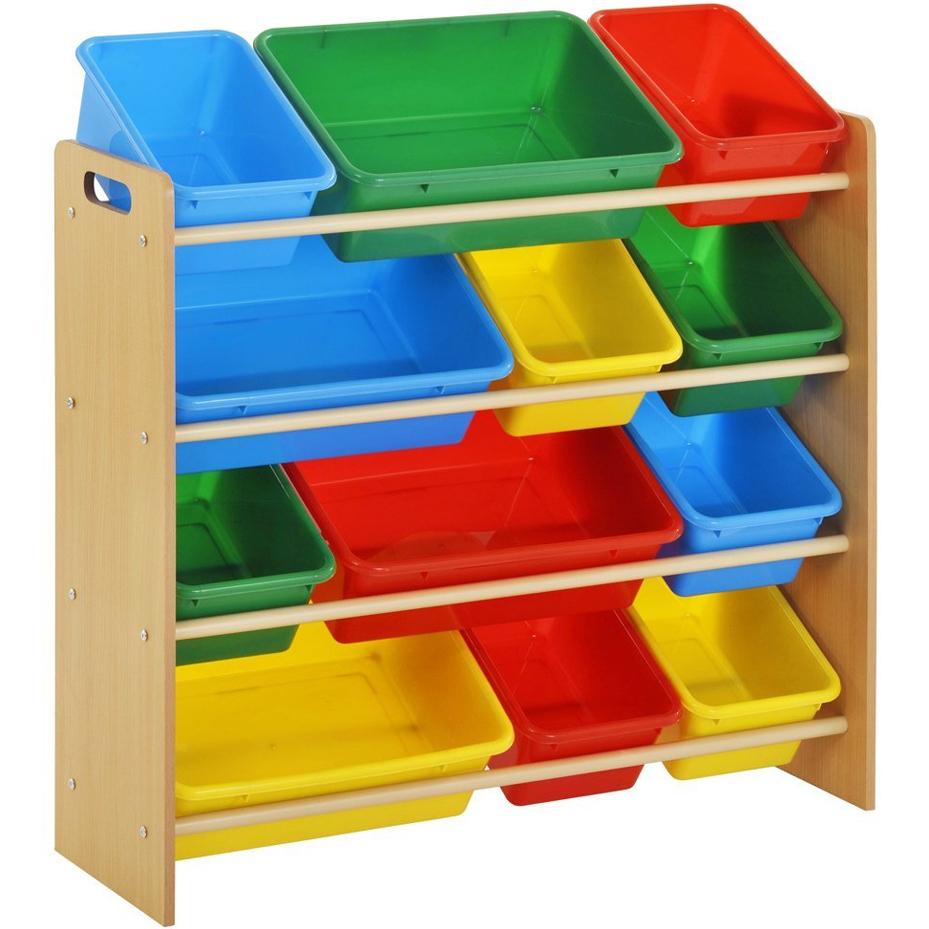Exceptional Multi Bin Toy Organizer