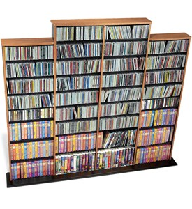 Multimedia Storage Tower - Quad Wall Image