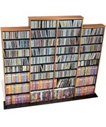 Multimedia Storage Tower - Quad Wall