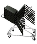 Music Chair Storage Dolly by National Public Seating