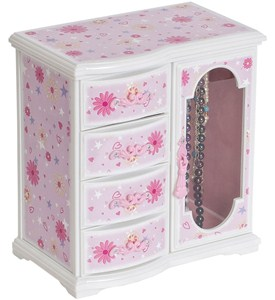 Girls Musical Jewelry Box Image