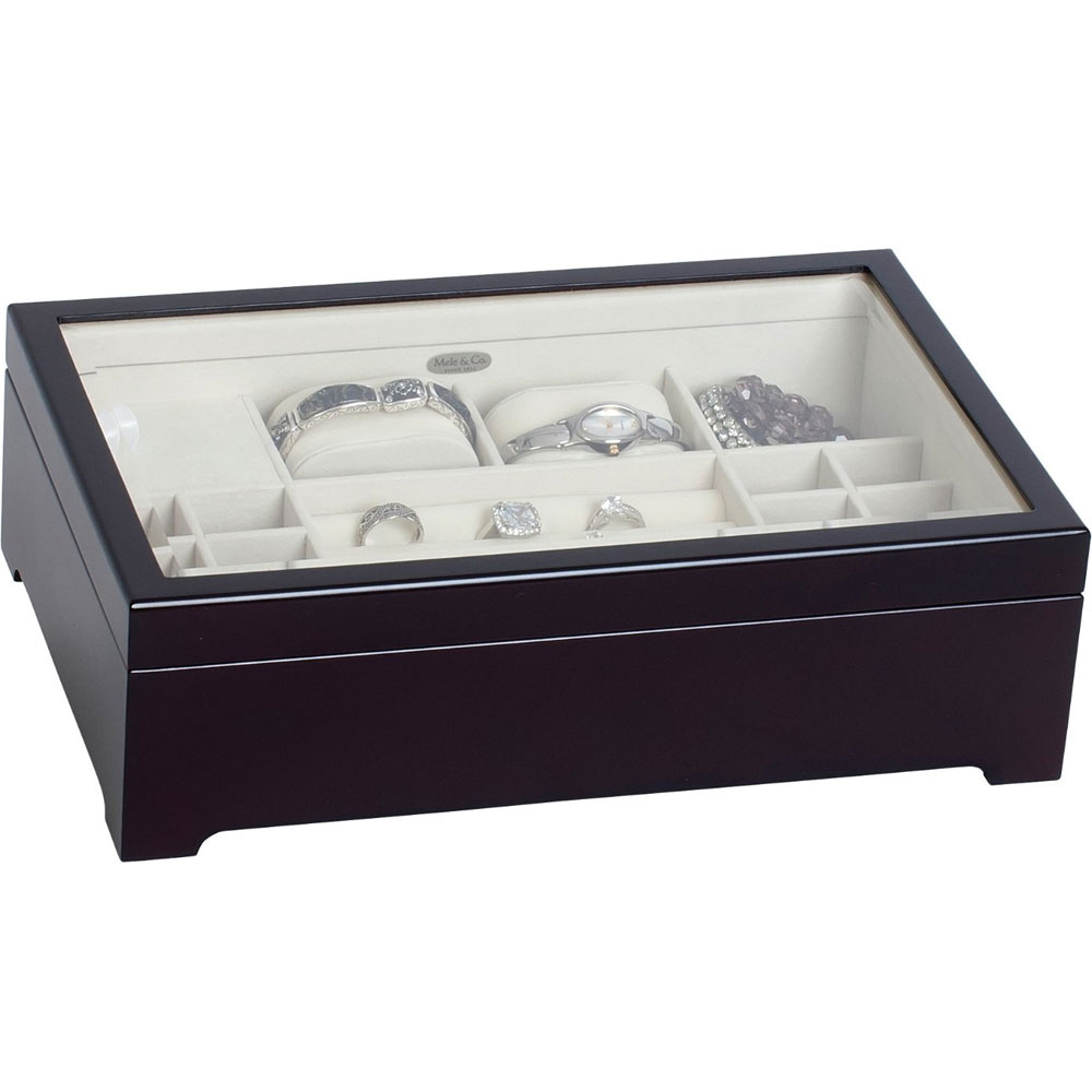 Musical Wooden Jewelry Box in Jewelry Boxes and Organizers