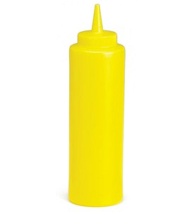 Diner Style Squeeze Mustard Dispenser Image