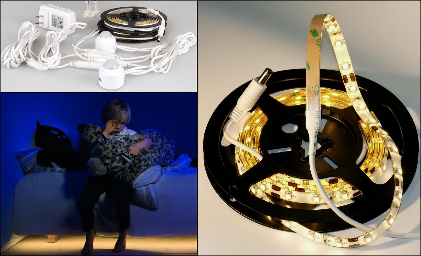 Led Motion Sensor Light For Bedroom In Led Lights