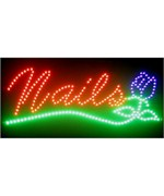 Nails LED Sign - by Neonetics