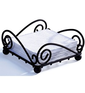 Scroll Flat Napkin Holder Image