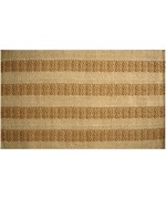 Natural Stripes Jute Rug