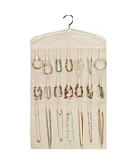 Canvas Hanging Bracelet and Necklace Organizer
