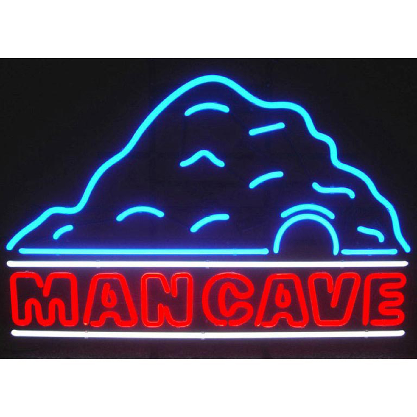 Man Cave Neon : Man cave sign by neonetics in neon signs