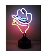 Cowboy Neon Sculpture - by Neonetics