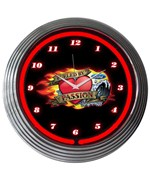 Ford Fueled By Passion Neon Wall Clock by Neonetics