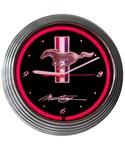 Ford Mustang Neon Wall Clock by Neonetics