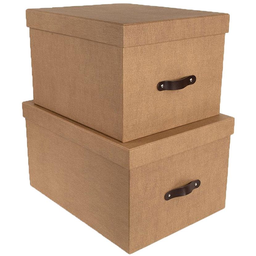 Nested Storage Boxes (Set Of 2) Image