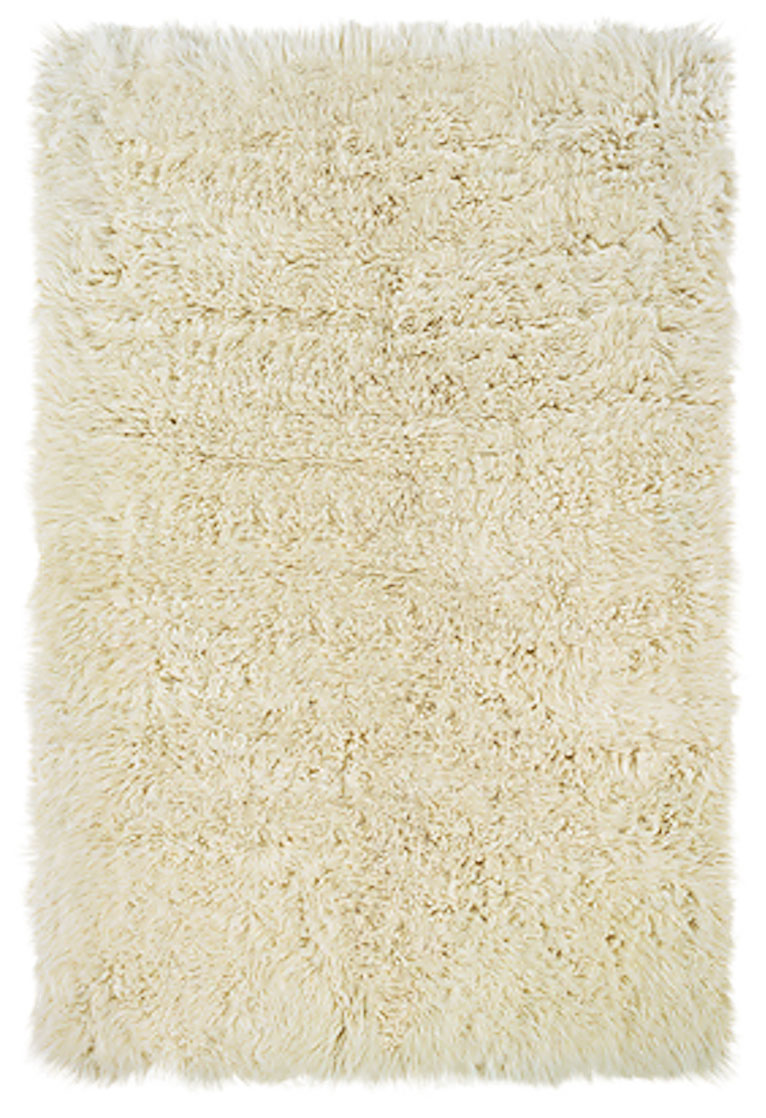 new flokati natural area rug by linon home decor in high