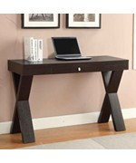 Newport Desk/Library Table with Drawer by Convenience Concepts