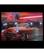 Nifty Fifties Neon/LED Picture by Neonetics - 3N5ONL