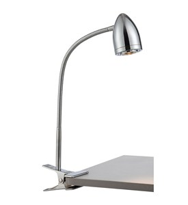 Niko LED Clip On Gooseneck Lamp by Lite Source Image