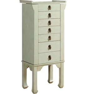 6 Drawer Jewelry Armoire Image